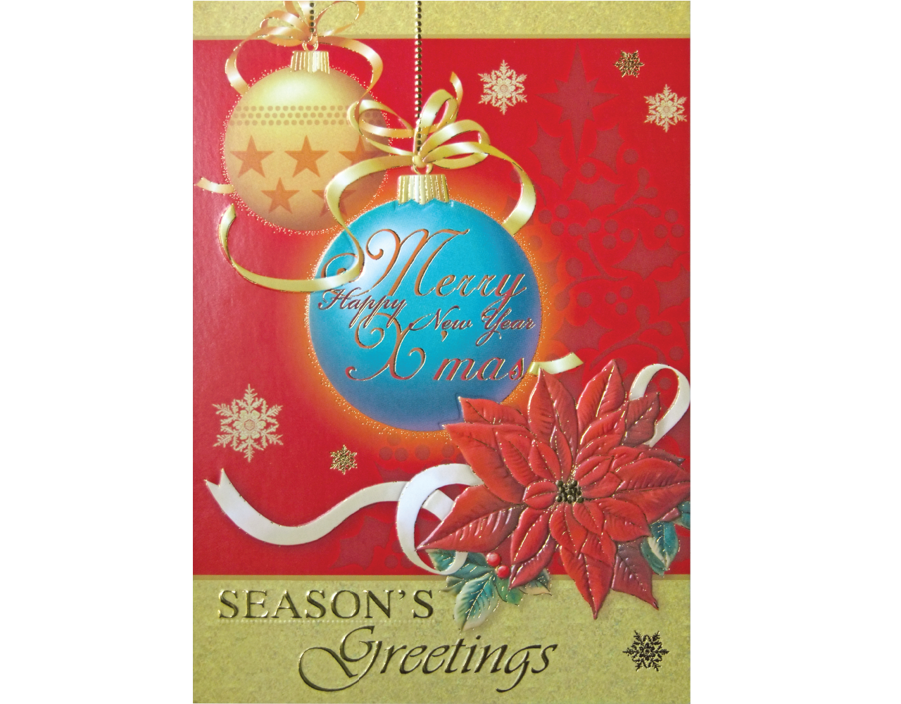 christmas card 5×7 inch GN.5419 ฿14.00