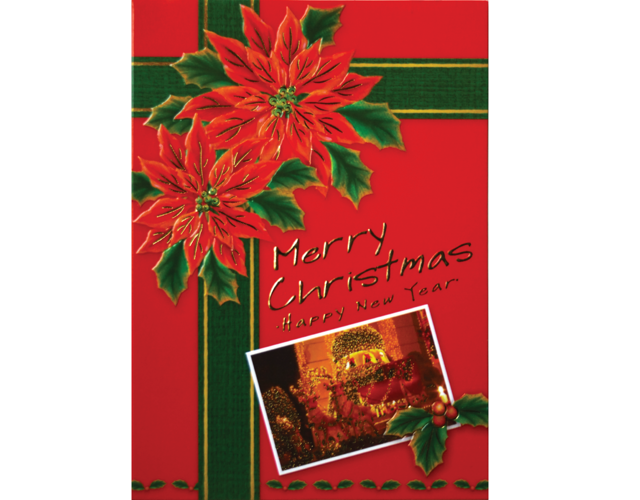 christmas card 5×7 inch GN.5721 ฿14.00