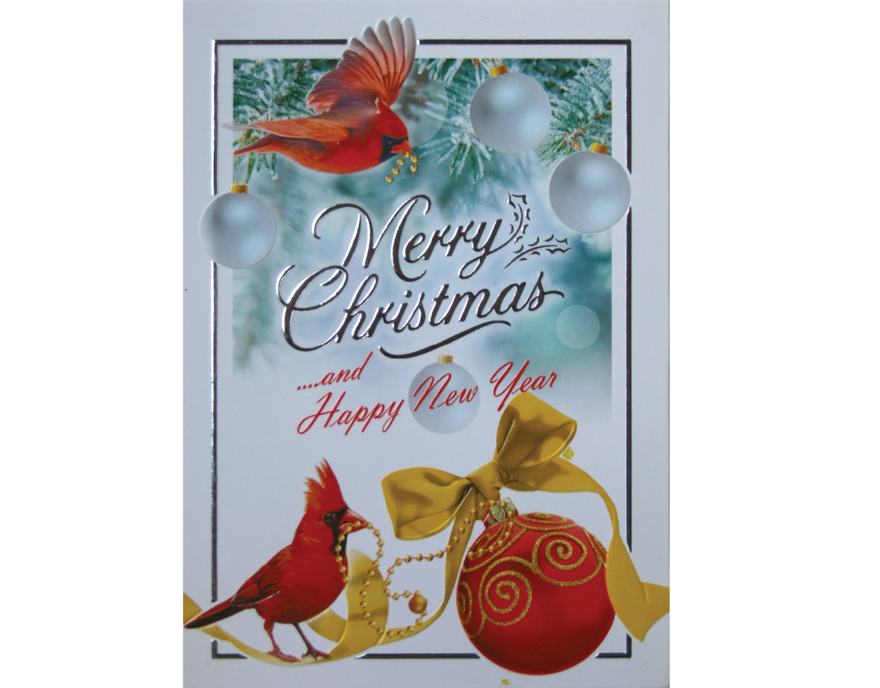 christmas card 5×7 inch GN.5810 ฿14.00