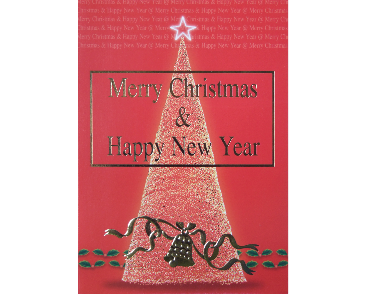 christmas card 5×7 inch GN.5811 ฿14.00