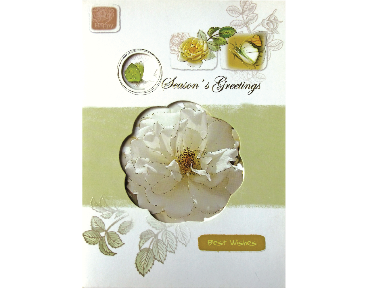 new year card 5×7 inch GN.5223 ฿14.00