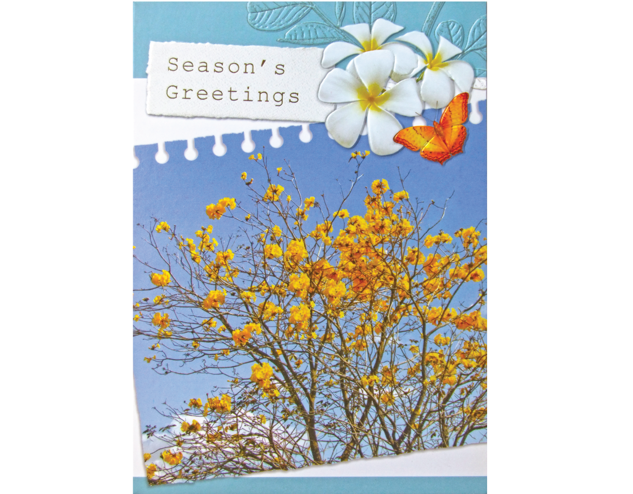 new year card 5×7 inch GN.5429 ฿14.00