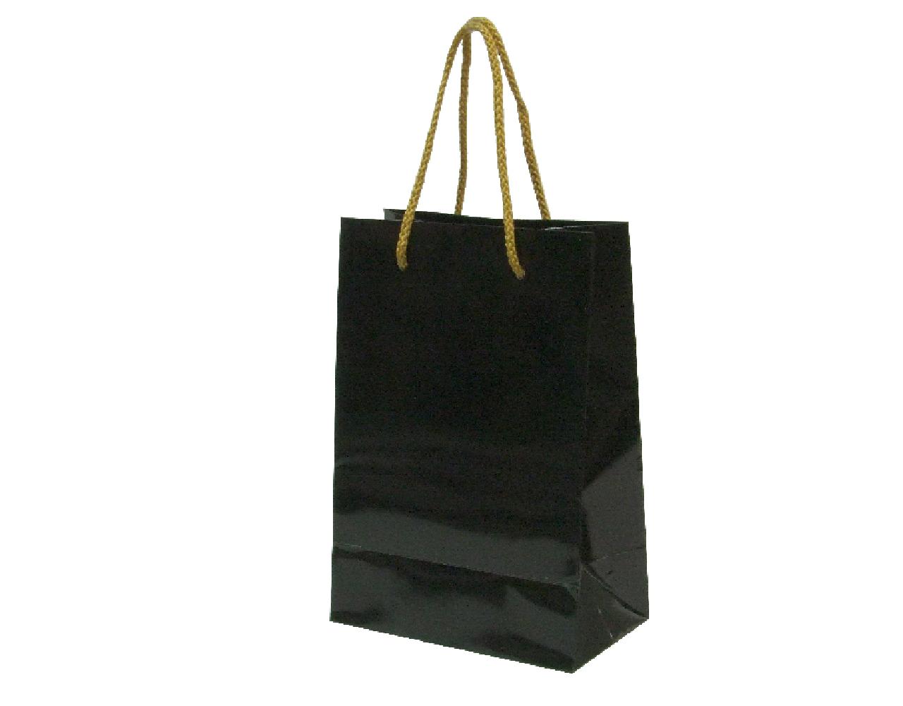 ถุงกระดาษ Black [ML] 12 pcs/pack