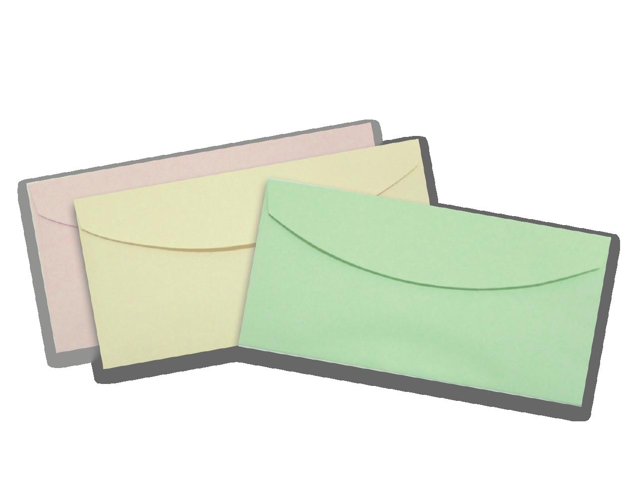 Envelope 11 x 22 cm. 100 g ฿ 2.50