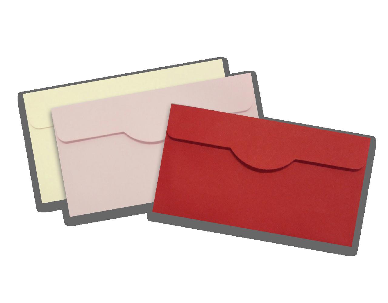 Envelope 11.4 x 20.5 cm. 100 g ฿ 2.50