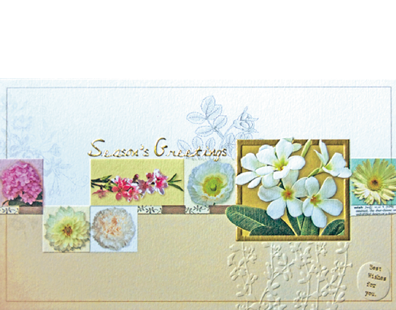 New year card 8×4 inch P 408฿ 16.00