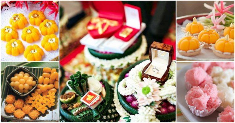 ขนมมงคล 9 ชนิด สำหรับงานแต่งงาน