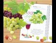 ปฎิทินตั้งโต๊ะ CT 6106 Healthy Fruit January