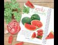 ปฎิทินตั้งโต๊ะ CT 6106 Healthy Fruit October