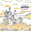 ปฏิทินตั้งโต๊ะ สั่งผลิต Beautiful Castle Cov