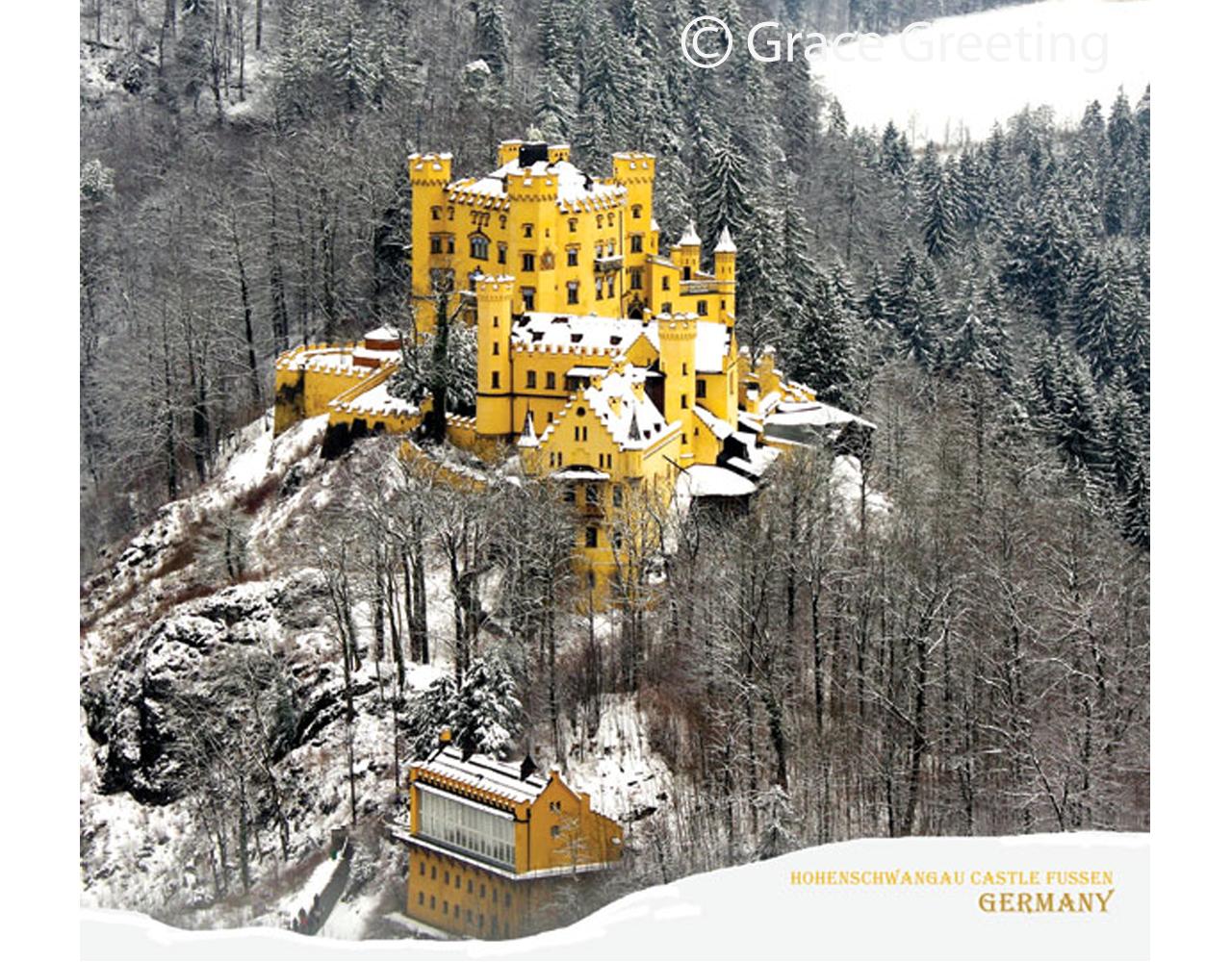 ปฏิทินตั้งโต๊ะ สั่งผลิต Beautiful Castle Feb1