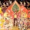ปฏิทินตั้งโต๊ะ ปี 2562 CT.6201 Thai Painting Art Feb