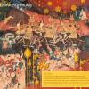 ปฏิทินตั้งโต๊ะ ปี 2562 CT.6201 Thai Painting Art Mar