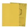 การ์ดแต่งงาน,การ์ดแต่งงานใบเดี่ยว กระดาษมุก สีทองมุก ,ออกแบบการ์ดแต่งงาน